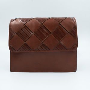 Ettinae Agner cute brown crossbody / basket detail